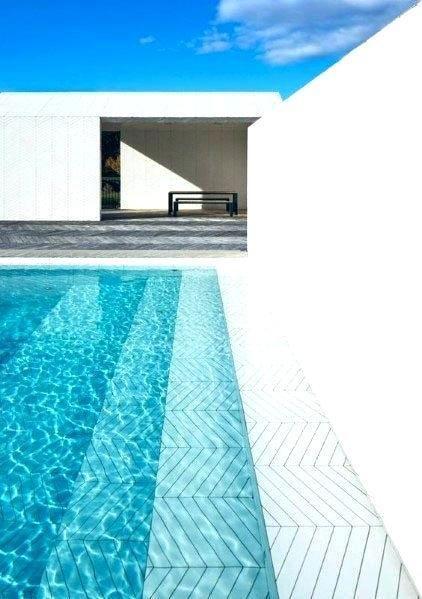 Beautiful Pool Mosaic Ceramic Tiles Ideas Tile Designs Modern