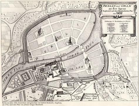 Berlin 1652 Berlin Deutschland History