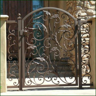 Wrought Iron Gates Driveway With Images Iron Garden Gates