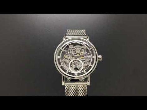 15b52bc45cc Mechanické hodinky Ingersoll The Herald I00405 - YouTube