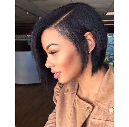Bobs On Relaxed Hair Best Short Hairstyles For Black Women 2018 2019 Hair Styles Short Hair Styles Natural Hair Styles