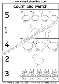 Counting - 6 Worksheets