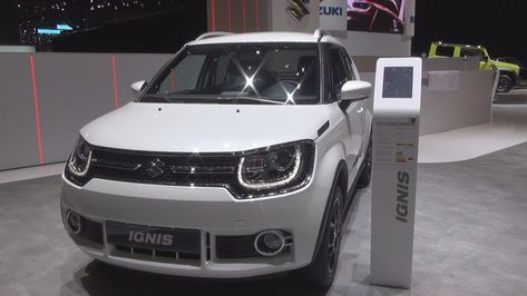 Suzuki Ignis Compact Top Automatic 2019 Exterior And Interior