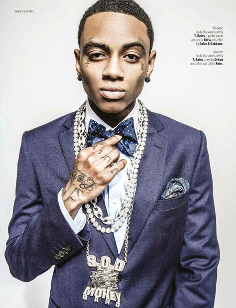Soulja Boy Wants You To Know He's FASHION SAVVY Now | The Young, Black, and Fabulous