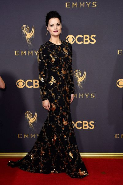 Actor Jaimie Alexander attends the 69th Annual Primetime Emmy Awards at Microsoft Theater.
