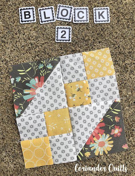 Blockheads Block – Coriander Quilts Sampler Quilts, Scrappy Quilts, Easy Quilts, Quilting Tutorials, Quilting Projects, Sewing Projects, Sewing Tips, Quilting Ideas, Colchas Quilting