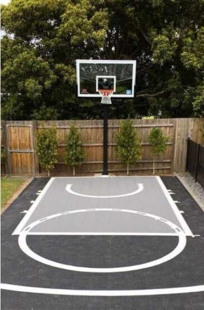 27 Outdoor Home Basketball Court Ideas Sebring Design Build In 2020 Basketball Court Backyard Backyard Basketball Outdoor Backyard