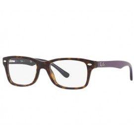 fca6beae2df Ray Ban Optics RB1531 eyeglasses – Violet Frame   Clear Lens