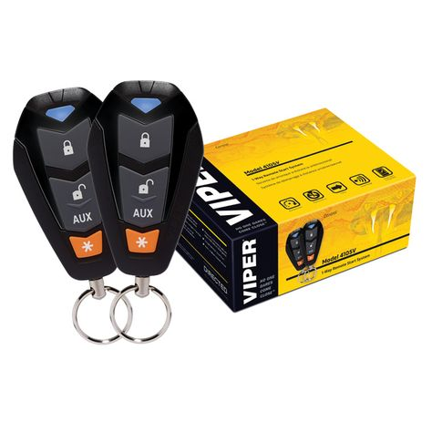 Who doesn't want a nice warm car to get into on those cold winter mornings? Viper Remote Car Starter System | PCRichard.com | VIPER4105V