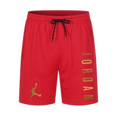 Men 2021 New Mesh Shorts - Red-GB / M