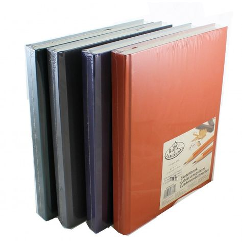 "Royal /& Langnickel Rich Colour Sketchbooks 8.5/"" x 11/"" Assorted Colours"
