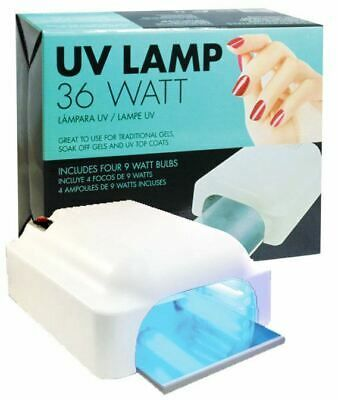 Details About Star Nail Uv Tunnel Lamp 36 Watt W Timer Uv947 With Images Timer Lamp Star Nails