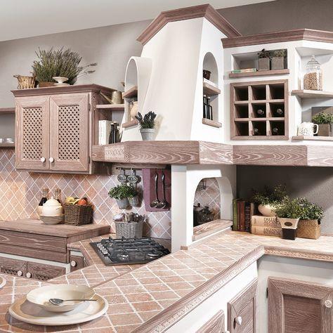 Luisa - Cucine Lube | Cucine rustiche, Cucine country ...