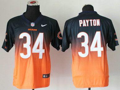 1e89896d5 Nike Chicago Bears  69 Jared Allen Orange Elite Jersey
