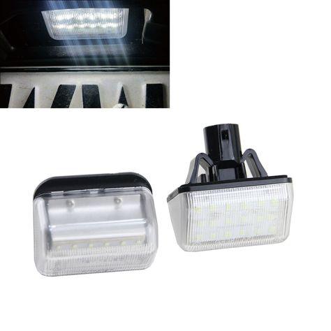 VW Up 16-18 LED Number Plate Lights Lamps Pair Set OEM