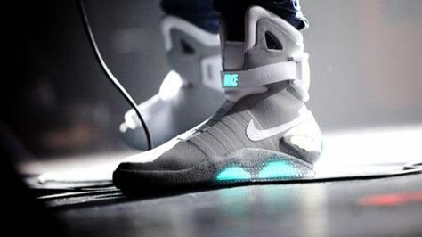 Marty Mcfly Nike Boots From The Movie Back To The Future 2