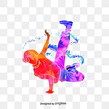Silhouette Of Creative Colorful Hip Hop Dancers Multicolored Sports Bodybuilding Png Transparent Clipart Image And Psd File For Free Download In 2021 Hip Hop Dancer Dancing Drawings Dance Photography Poses