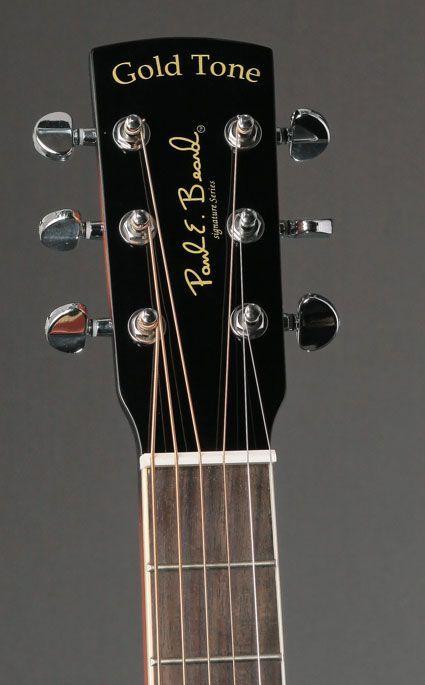 Gold Tone Paul Beard Square Neck Guitar Resonator Guitar Vintage Guitars