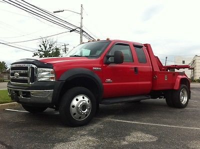 Repo Trucks For Sale >> Ford F550 Red Tow Truck Repo Truck Century Lift Fully Loaded