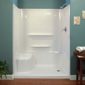 Pin By Charla Burnette On Tiny House Needs Shower Wall Kits Shower Base Shower Wall