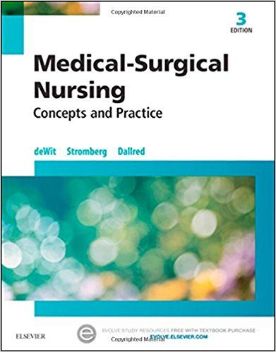 Test Bank For Medical Surgical Nursing Concepts And Practice