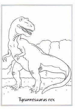 malvorlage dinosaurier t rex - tiffanylovesbooks