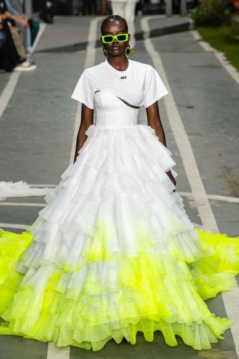 The Off-White Spring 2019 Show Highlighted the Inimitable Power and Expression in Sport - Fashionista