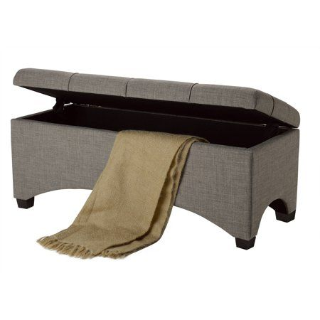 601c434a5c36a3e8ca7181cd37a2dc27 - Better Homes & Gardens Pintucked Storage Bench