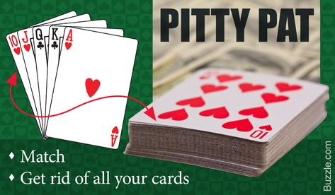 Don't Know How to Play the Pitty Pat Card Game? We'll Tell You - Plentifun Group Card Games, Party Card Games, Family Card Games, Card Games For Kids, Party Fun, Dice Games, Activity Games, Games To Play, Fun Games