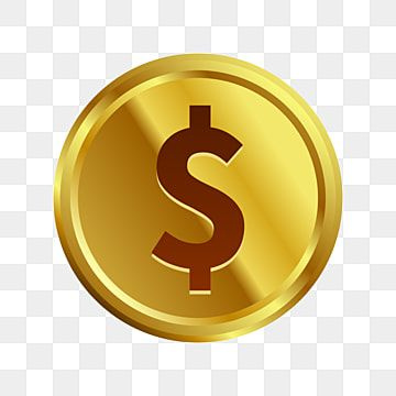 Golden Dollar Coin Money Dollar Clipart Dollar Golden Png And Vector With Transparent Background For Free Download In 2021 Coin Icon Dollar Coin Money Clipart