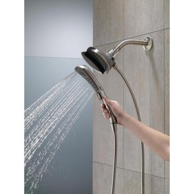 Delta Faucet 58467 2 5 Gpm In2ition 2 In 1 Multi Function Shower