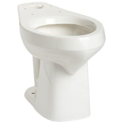 Mansfield Plumbing Products Alto Smartheight Elongated Toilet Bowl
