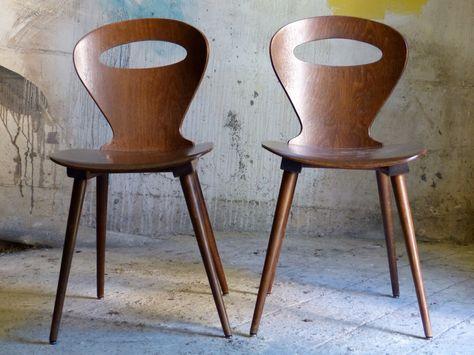 Chaises Bistrots Baumann Chaise Chaise Bistrot Canape Vintage