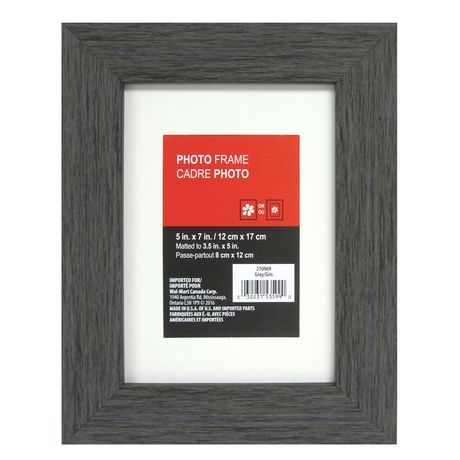 Tinta Matted Dark Grey Photo Frame Grey 3 5 In X 5 In Grey Picture Frames Frame Picture Frames