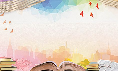 Book Knowledge Education Poster Background Material in ...