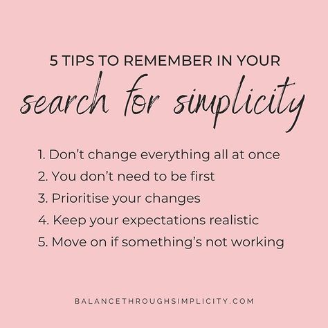 This week on the blog I'm sharing a post with 5 tips to remember in your search for simplicity. It's not a post with practical…