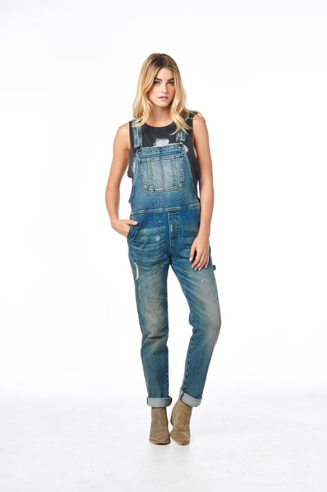 Overalls! Cult of Individuality S/S '15 Women