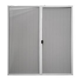 Jeld Wen 72 In X 80 In White Aluminum Frame Sliding French Door Screen Door Lowes Com French Doors With Screens Sliding Screen Doors Screen Door