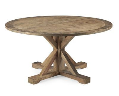 Pottery Barn Look Alikes: Save 350.00 @ Overstock Vs Williams Sonoma  Reclaimed Wood Pine Round Table | Williams Sonoma Look Alikes | Pinterest |  Pine, ...