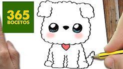 365bocetos Perros Kawaii Youtube Dibujos Kawaii Faciles Como
