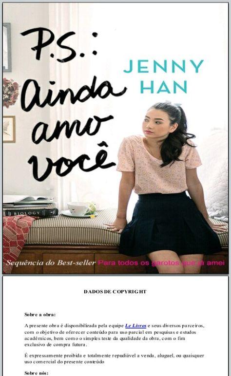 Pin De Morgana Fonseca Em Livros Lidos 2018 Ainda Te Amo