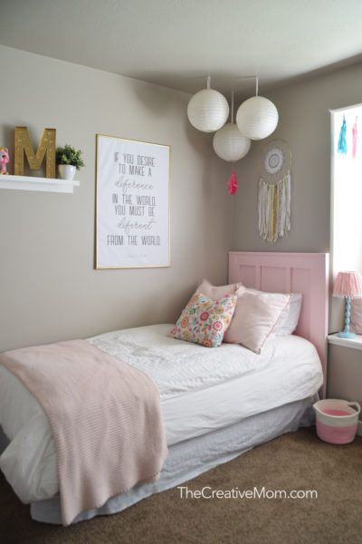 Simple Pink And Gold Girls Room How To Create An Engineer Print And A Free Printable Gold Girls Room Pink Girl Room Girl Room