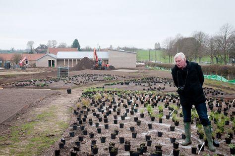 Piet Oudolf's Garden for Hauser & Wirth / image: Vincent Evans, Hauser & Wirth Somerset