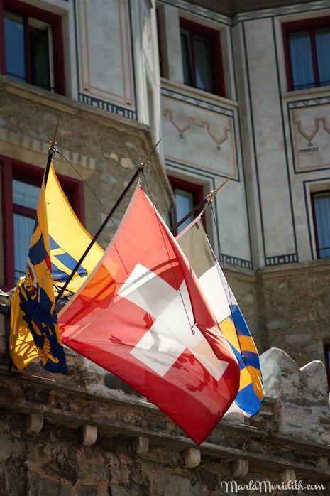 Badrutt's Palace Hotel: St. Moritz, Switzerland