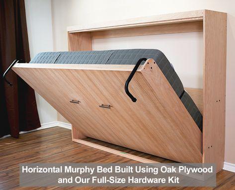 Murphy Bed Kits, Queen Murphy Bed, Best Murphy Bed, Murphy Bed Plans, Diy Murphy Bed, Full Size Murphy Bed, Murphy-bett Ikea, Bed Ikea, Murphy Bed Hardware