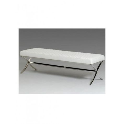 Super Regency Suede Acrylic Bench Modern Furniture Brickell Ocoug Best Dining Table And Chair Ideas Images Ocougorg