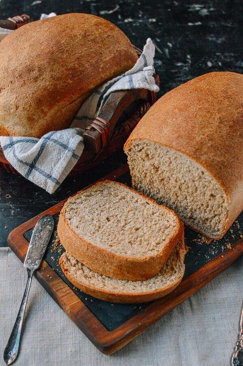 Perfect Whole Wheat Bread Recipe Bread Recipes Food Wheat Bread Recipe