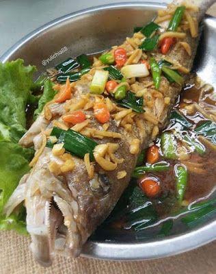 Resep Ikan Kerapu Tim Jahe Di 2020 Resep Ikan Resep Resep Masakan Sehat