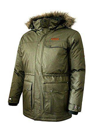41cd20bdd Columbia Mens Bonneville Omni-Tech Down Coat, Charcoal Review | Down ...