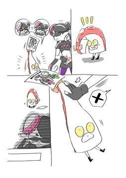 ぱらりさんはtwitterを使っています スプラトゥーン2ヒーローモードクリア記念の漫画です その https t co 6nwsucse0b twitter splatoon comics splatoon funny games